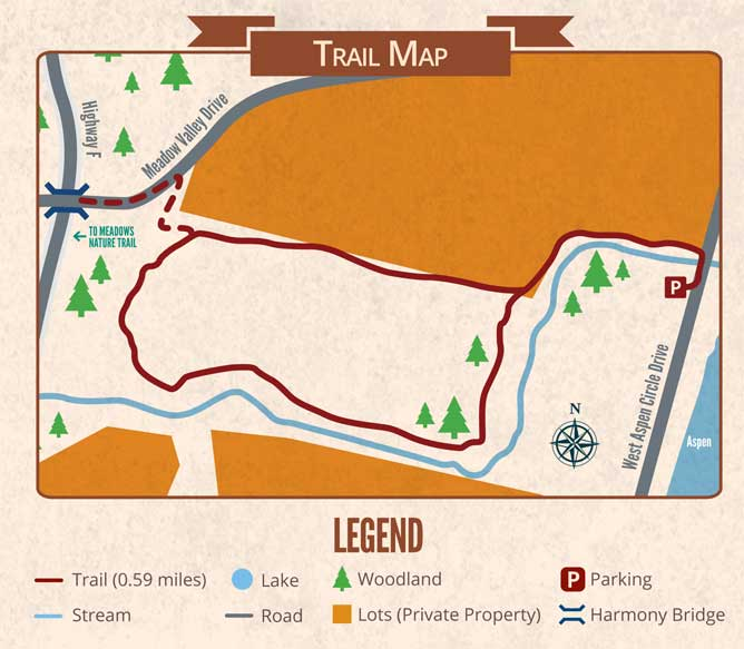 Aspen Spur Map