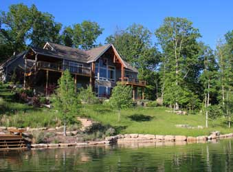 Alpine Lake Home