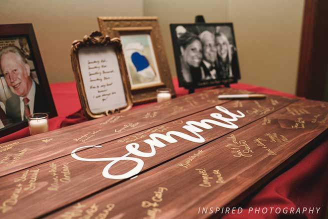 guest book keepsake