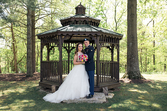 oak lawn gazebo wedding