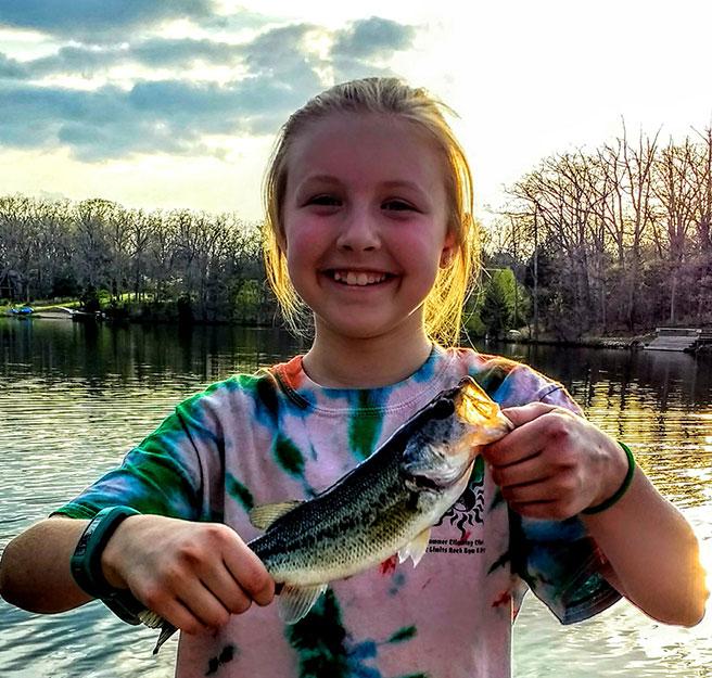 cecilia fishing