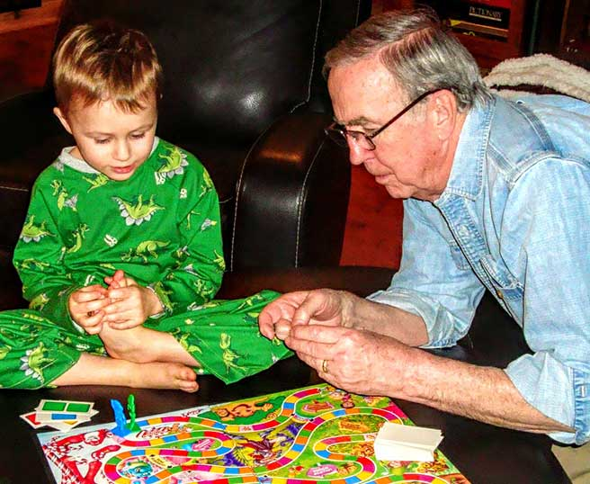 candyland with grandpa