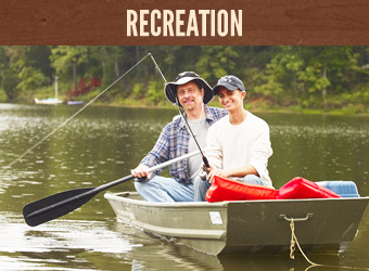 There's Plenty To Do at Innsbrook - Horseback Riding, Fishing, Lakes, Nature Trails and More