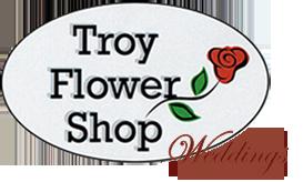 Troy Flower Shop logo