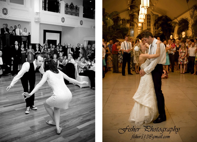 The Edge Bride and Groom Dances