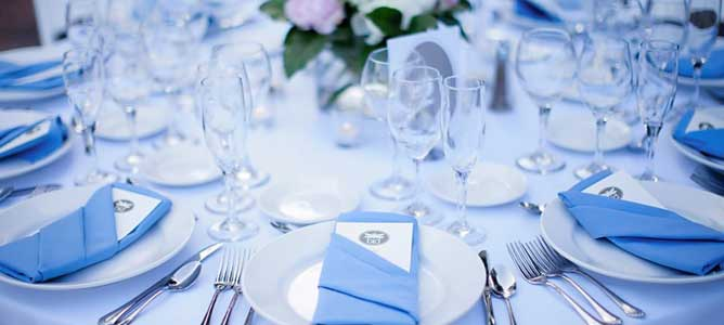 Wedding Catering Tablescape