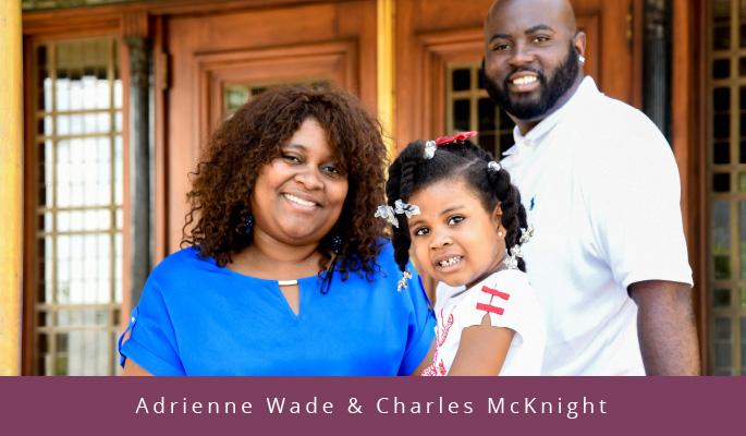 Adrienne Wade & Charles McKnight