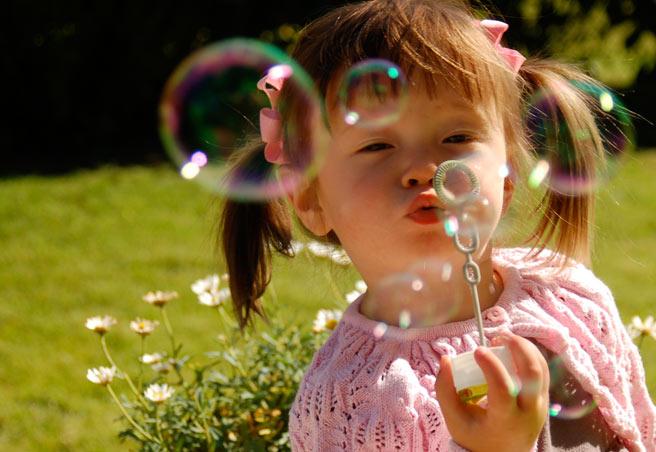 Popping Bubbles at Innsbrook