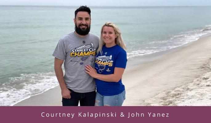 Courtney Kalapinski & John Yanez