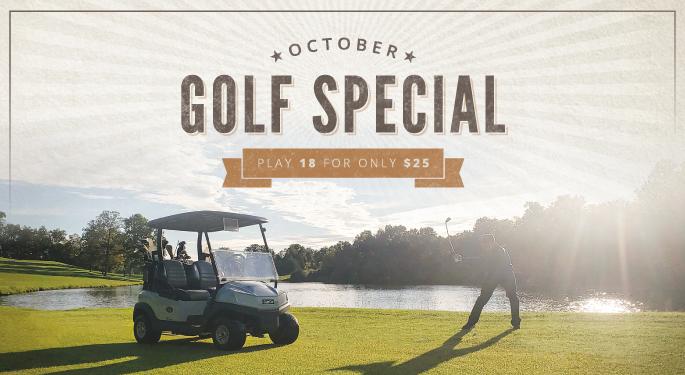 October Golf Special