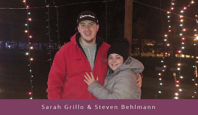 Sarah Grillo & Steven Behlmann