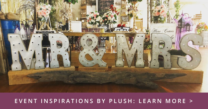 Event Inspirations by Plush