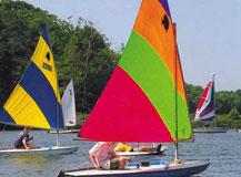Sailing at Innsbrook