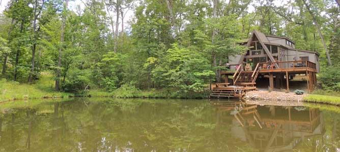 Chalet on a Lake