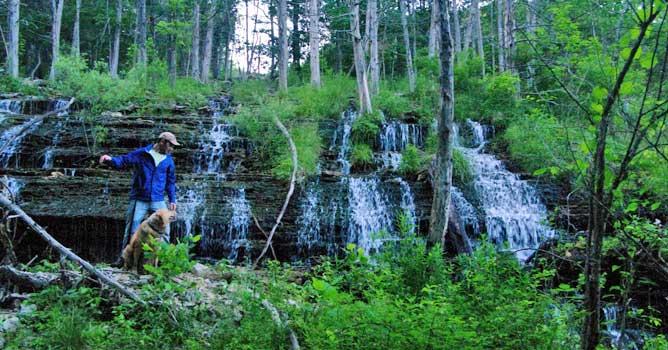 Waterfall at Innsbrook