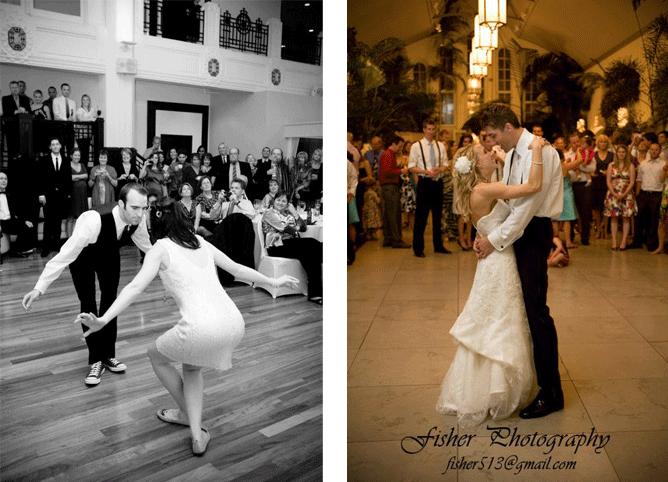 The Edge Bride and Groom Dances