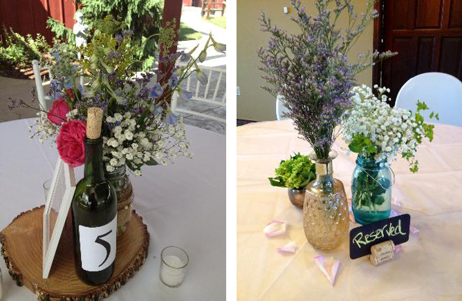 Troy Flower Shop Centerpieces