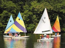 Sailing at Innsbrook