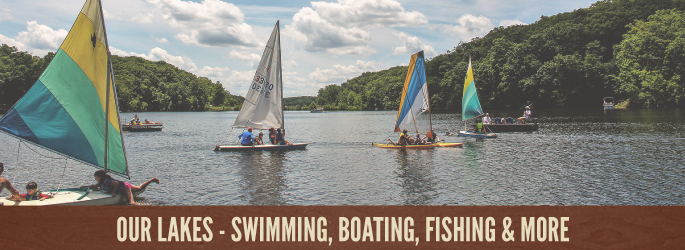 Our Lakes - Swimming, Boating, Fishing & More